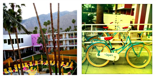Colour inspiration: The Saquaro in Palm Springs oozes colour and vibez.