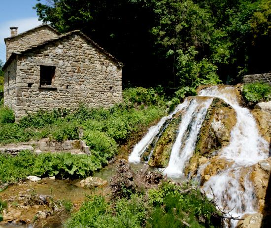Falls near Pindus National Park