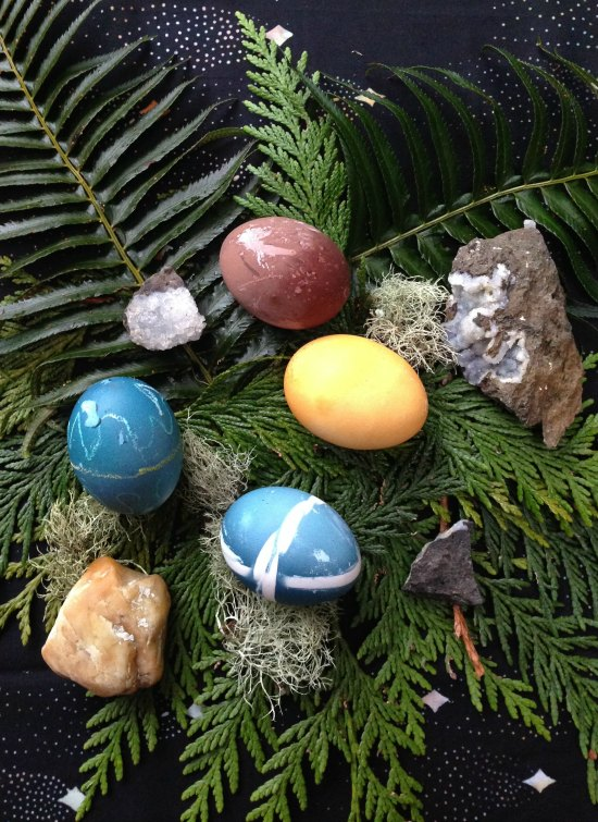 Natural Dyes for your Easter Eggs using common kitchen ingredients