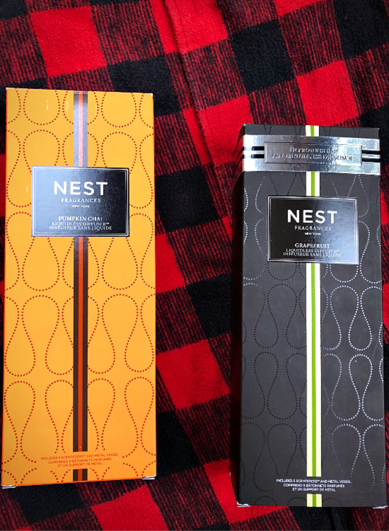 Nest Fragrances come in a variety of Hygge inducing scents