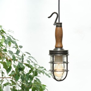 Portable Lamp in Patinated Brass anciellitude
