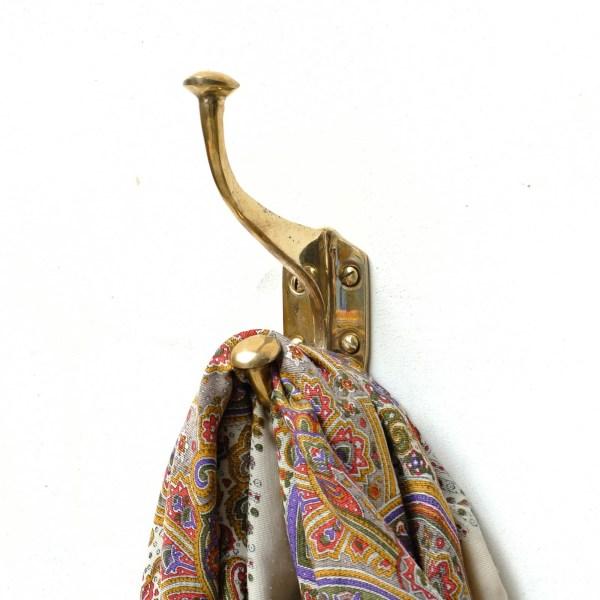 Porte manteau « Bouton tassé » bronze anciellitude