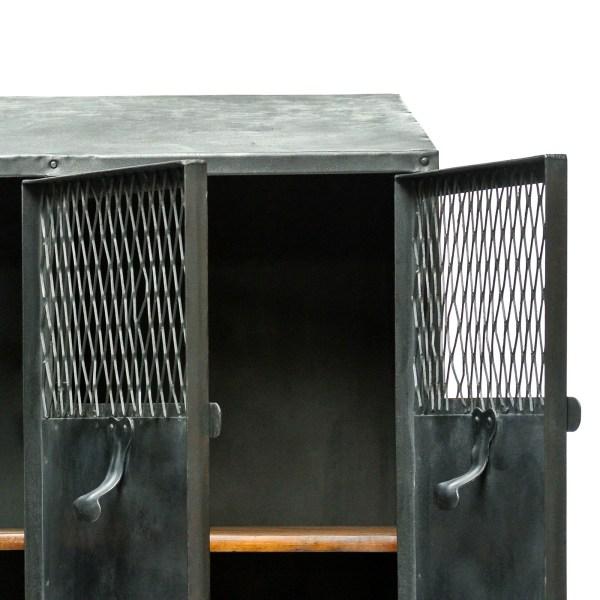 Vestiaire 4 portes grillagées anciellitude