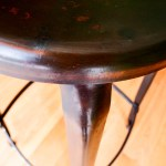Vintage Industrial Stool from Nicolle H75 cm  anciellitude