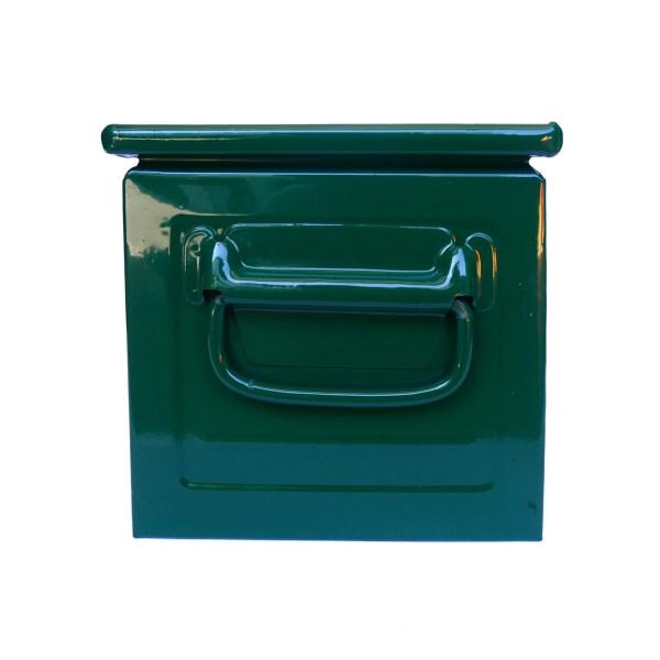 Caisse métallique « vert foncé » anciellitude