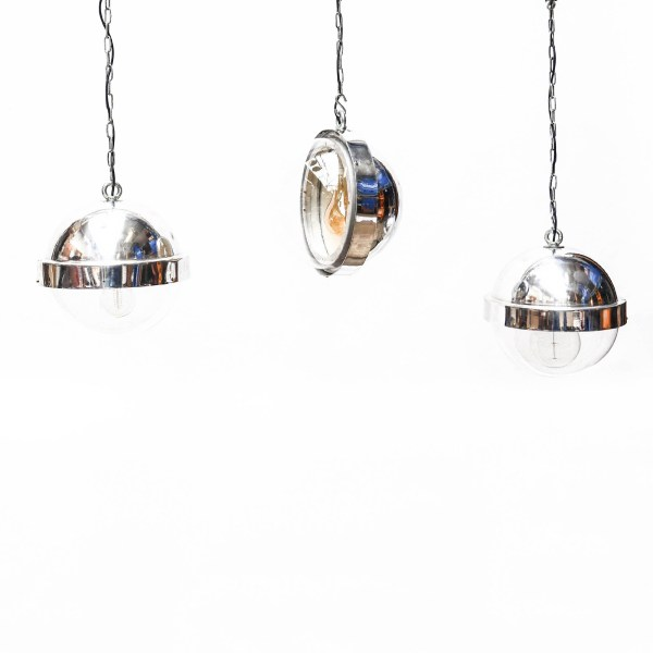Trio : Suspensions « Boule Aluminium » anciellitude