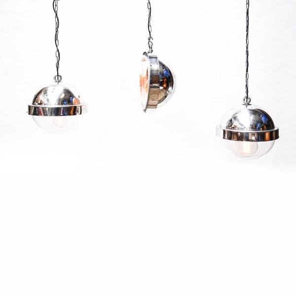 Trio : « Aluminium Ball » Ceiling Lamps anciellitude
