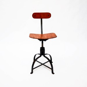 Vintage Biénaise Workshop Chair (Low).. anciellitude