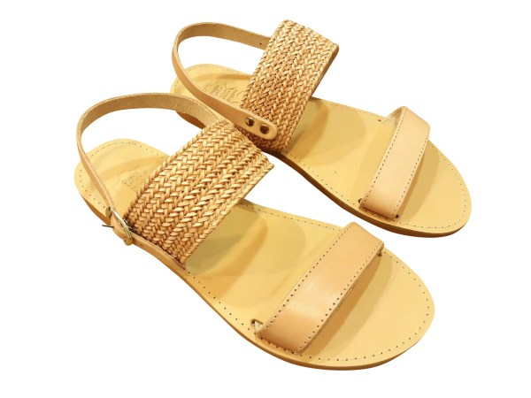 greek handmade leather sandals 259