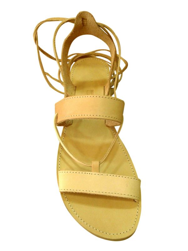 greek handmade leather sandals 126 1
