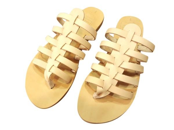 greek handmade leather sandals 335