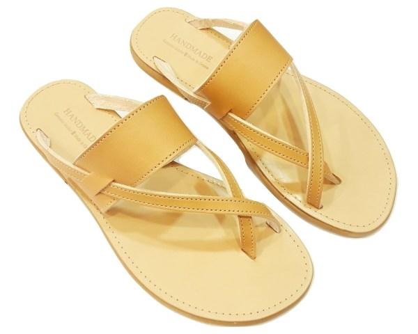 greek handmade leather sandals 463
