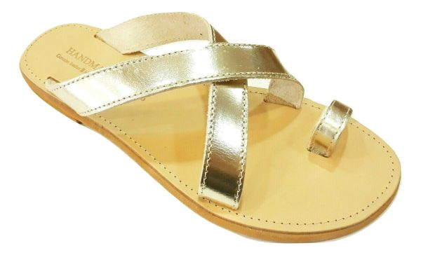 greek handmade leather sandals 470