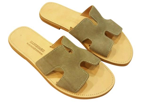 greek handmade leather sandals 527