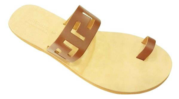 greek handmade leather sandals 675