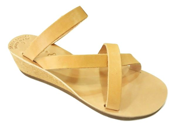 greek handmade leather sandals 714