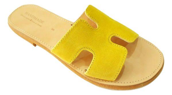 greek handmade leather sandals 739