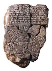 Picture of a sumerian map