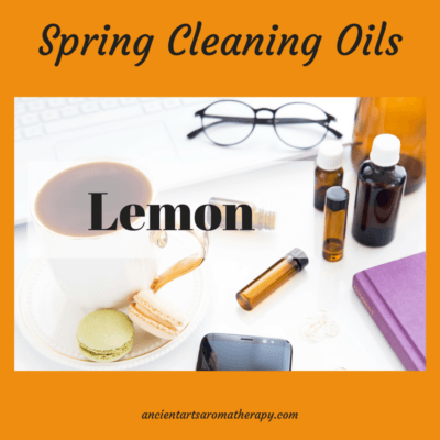 Spring Cleaning Lemon Essential Oil