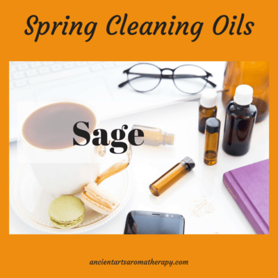 Spring Cleaning – Sage Essential Oil