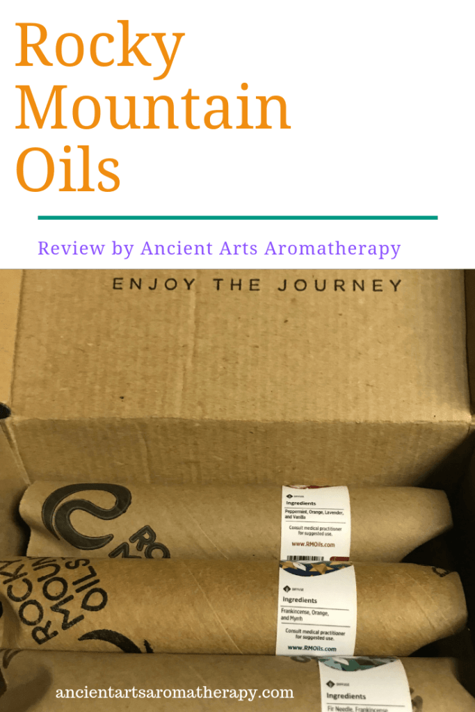 Rocky mountain Oils Pinterest Box of Oils