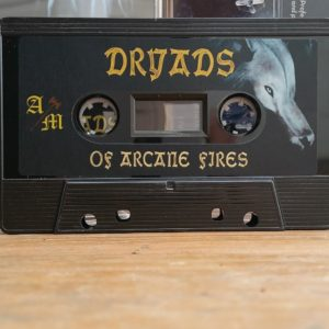 dungeon synth, dryads, of arcane fires, ancient meadow records, dryads debut cassette, dungeon synth cassettes, dark ambiant music, dungeon synth music, dungeon synth genre, medieval music, medieval ambient