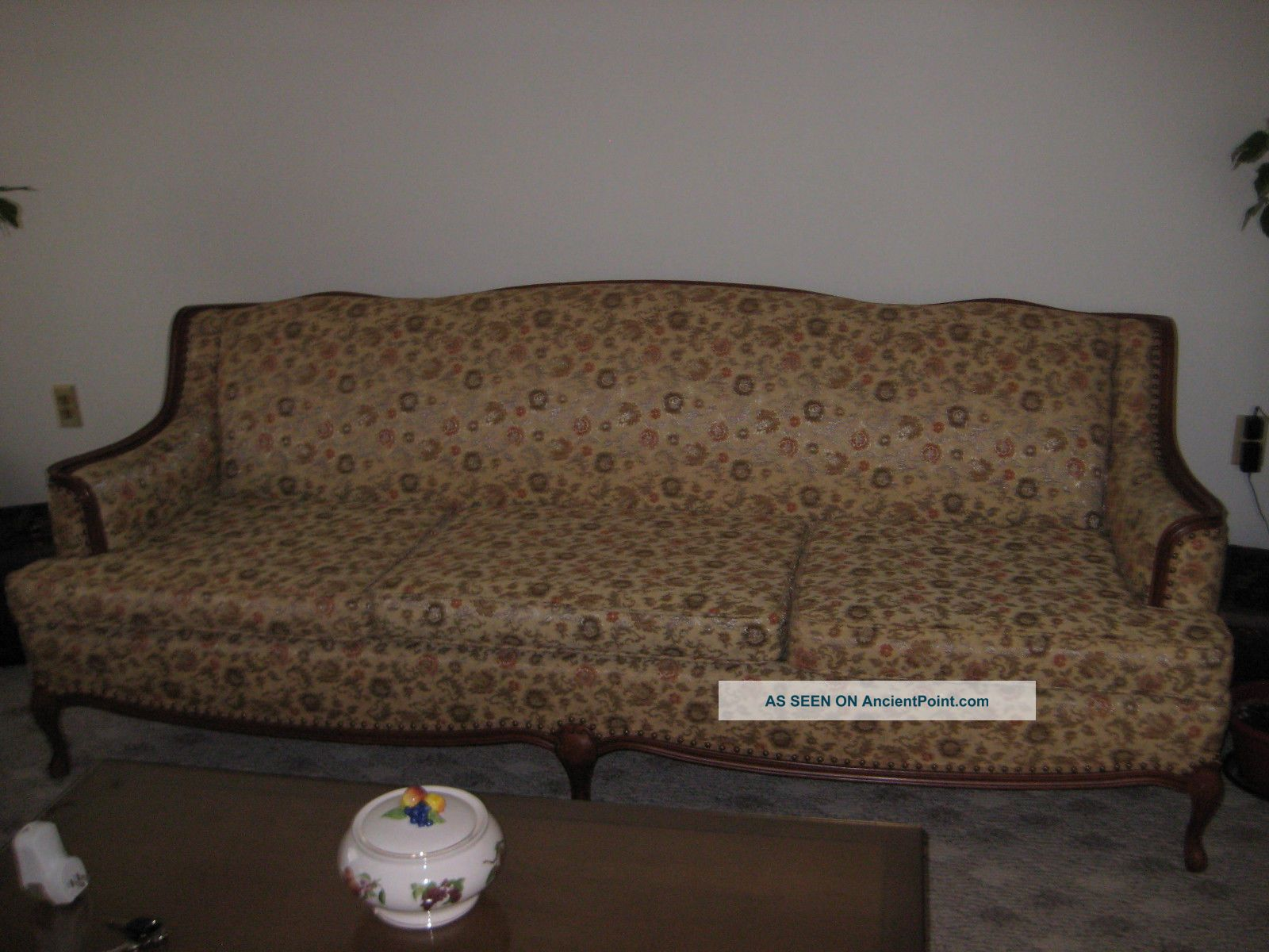 Vintage French Provincial Living Room Set Sofa Couch