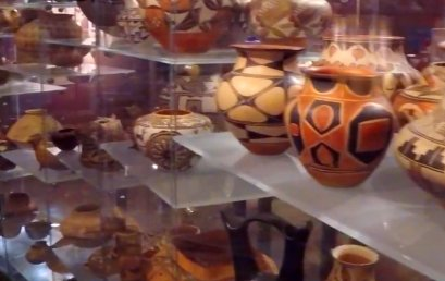 Pottery at the Arizona State Museum