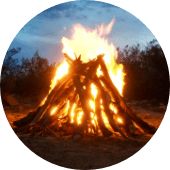 fire pottery outdoors