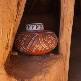 Four Mile Polychrome replica jar