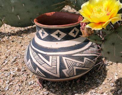 Gila Polychrome replica jar
