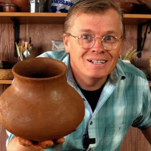 making primitive pottery can be fun
