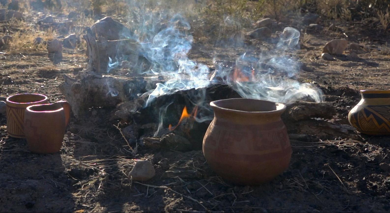Pottery Firing Feb. 6, 2021