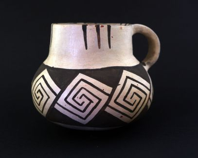Cibola White Ware Pitcher Replica