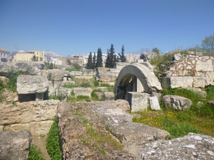 Buildings by the Sacred Way at the Kerameikos