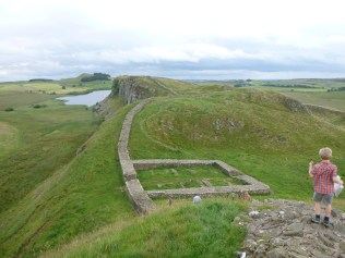 A milecastle on the Wall