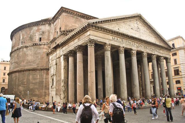 The Pantheon Ancient Roman Art Architecture