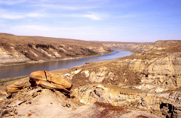 The South Saskatchewan River valley, 1994