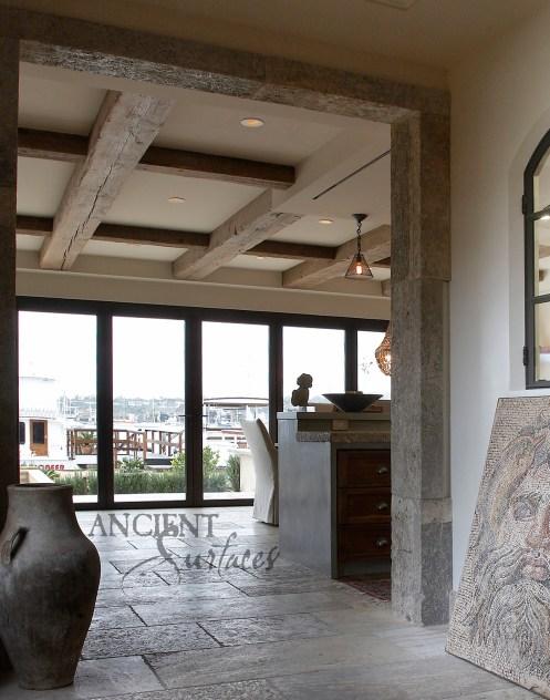Hallway Neptune Roman Mosaic-2