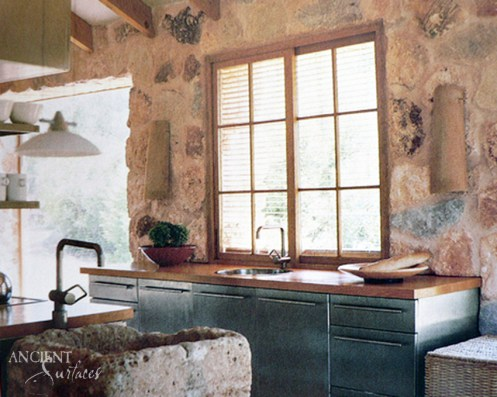 Kitchen Limestone Trough Sink-33