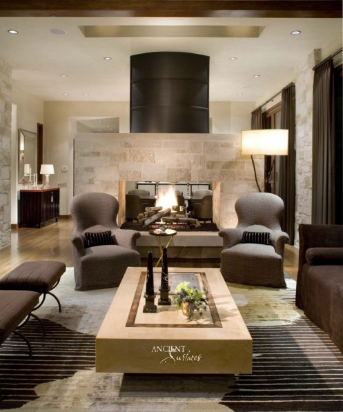 16 Fabulous Earth Tones Living Room Designs Decoholic inside Ear