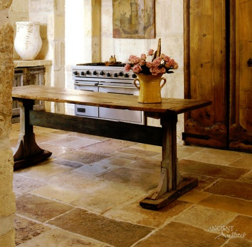 Antique Limestone Flooring