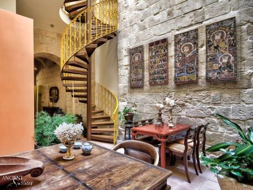 antique wall limestone cladding