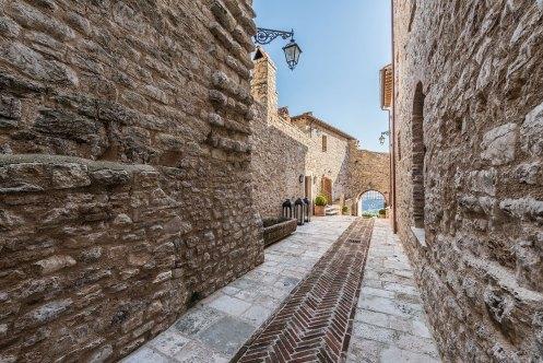 Castello di Procopio Antique Stone Walkway