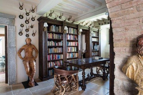 Castello di Procopio Library