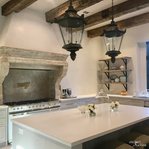 antique-limestone-kitchen-hood