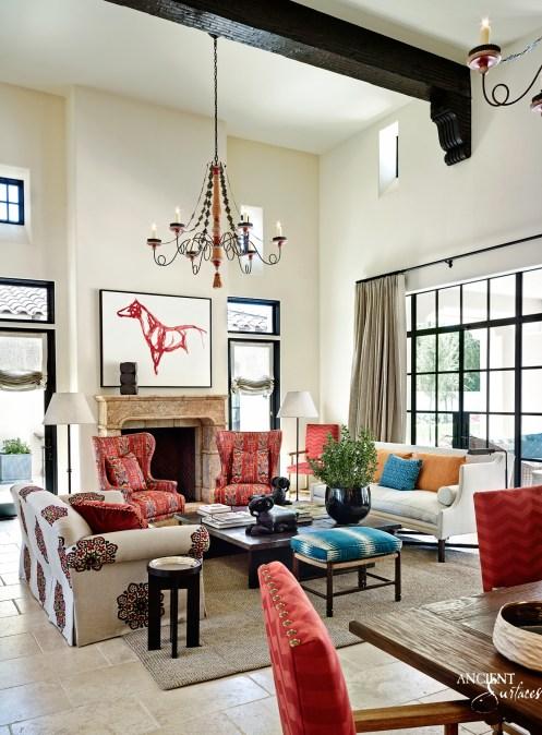 limestone-fireplace-living-room