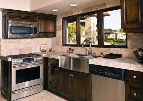 Antique Limestone Kitchen by Ancient Surface