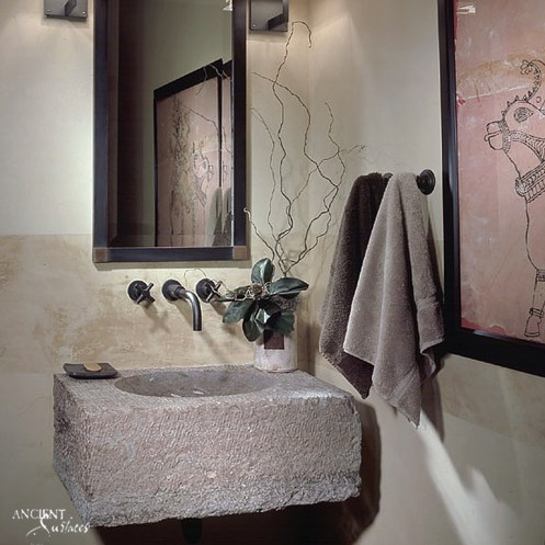 antique-limestone-sink-design