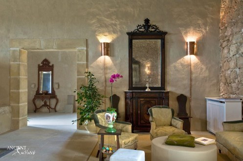living-room-space-limestone-entry-way